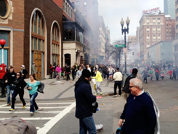 Boston Marathon Photo of Suspect Dzhokhar Tsarnaev