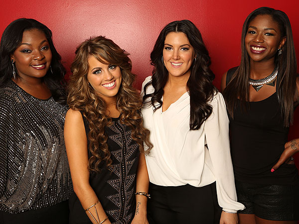 American Idol: Top 4 Take On Top Hits and Standards
