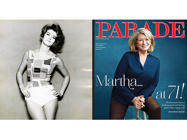 Martha Stewart Talks Modeling, Prison, New Book and Men to Parade Magazine