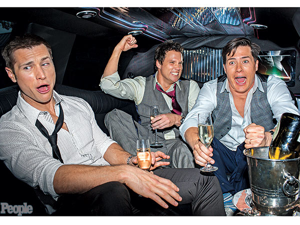 Bachelor Party! What Jake Pavelka, Bob Guiney and Andrew Firestone Are Up To