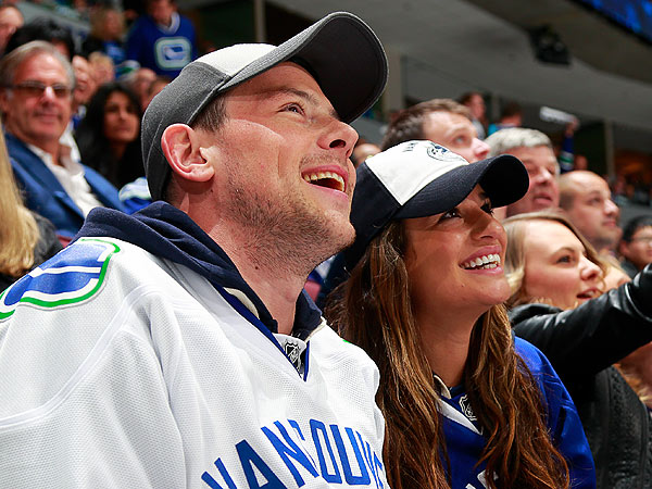 Cory Monteith in Vancouver with Lea Michele Post Rehab