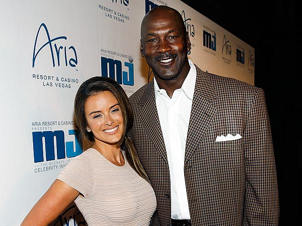 Michael Jordan couple