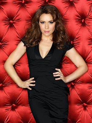 Alyssa Milano Strips Down for Sex Scene in Mistresses