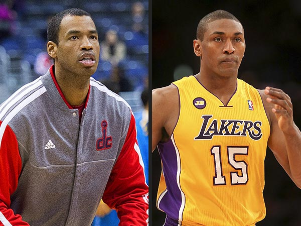 Metta World Peace: Jason Collins Is Welcome on the Lakers