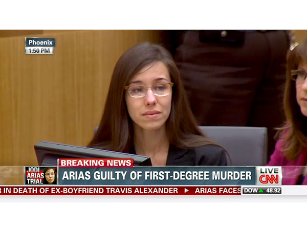 Jodi Arias Convicted of Murder, Faces Possible Death Penalty