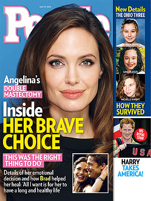 Angelina Jolie's Double Mastectomy: How She Kept It Secret