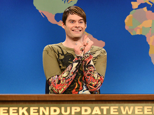 Saturday Night Live - Bill Hader Leaving on Saturday's Season Finale