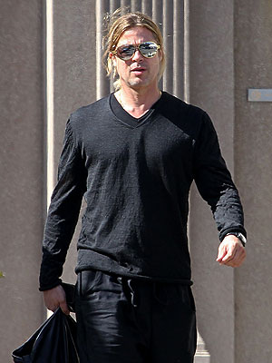 Brad Pitt Steps Out After Angelina Jolie Announcement