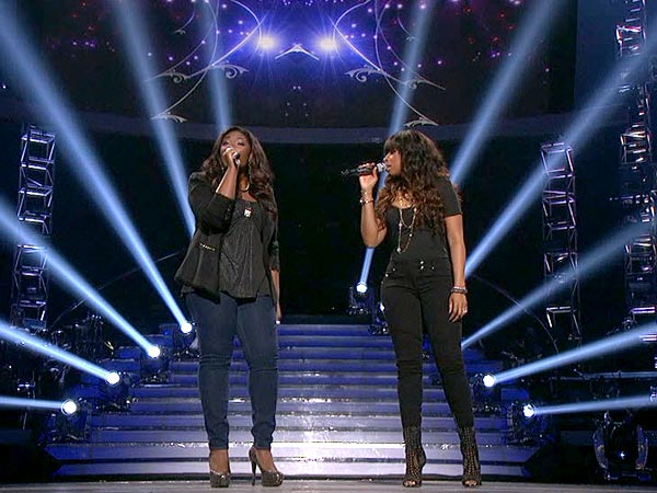 American Idol: Jennifer Hudson Returns to Sing with Candice Glover