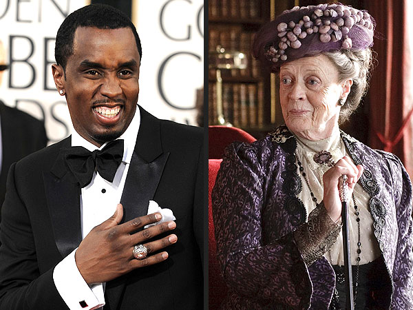 Diddy Does Downton Abbey – His Way