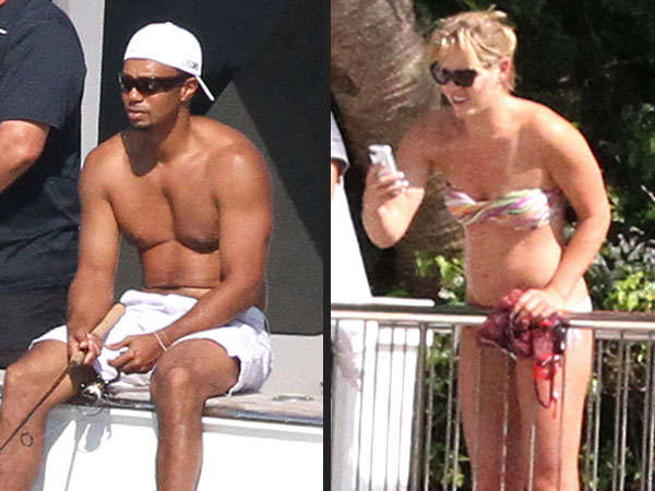 Tiger Woods Dating Lindsey Vonn, Pictures of Them on His Yacht