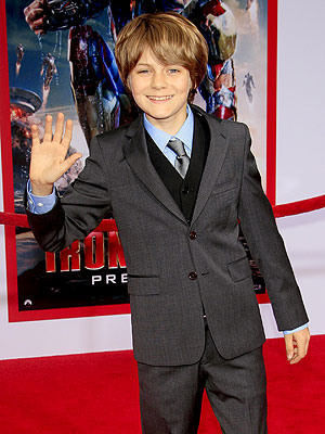 Iron Man 3's Ty Simpkins Interview with People Magazine