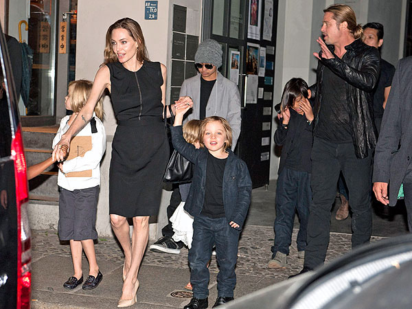 Angelina Jolie Birthday; Celebrates 38th with Brad Pitt & Kids