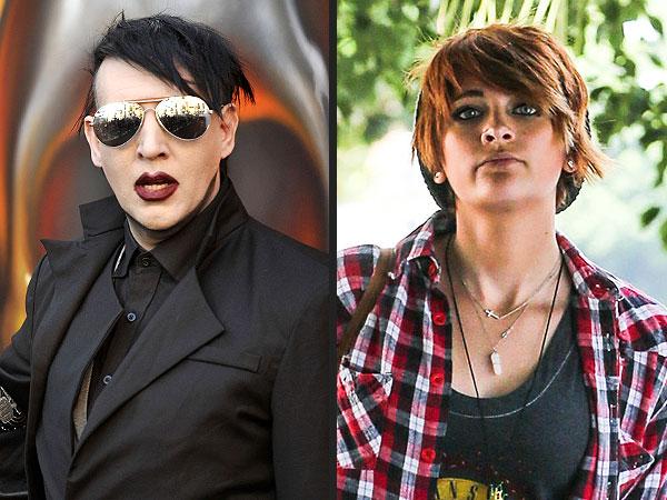 Marilyn Manson Invites Paris Jackson to Concert Anytime