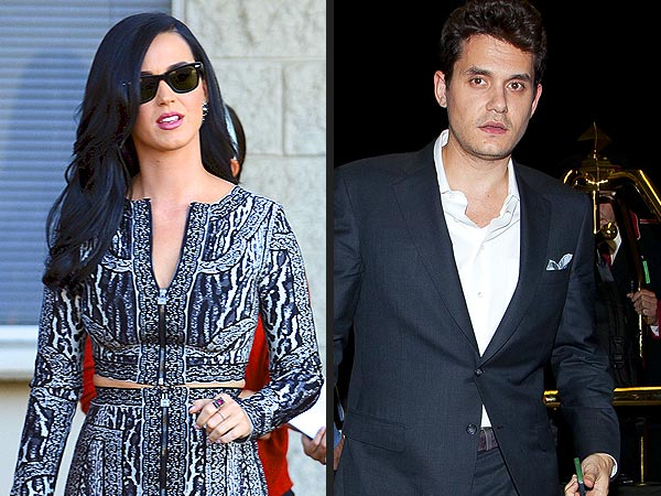 Katy Perry and John Mayer Spotted with Friends at Chateau Marmont
