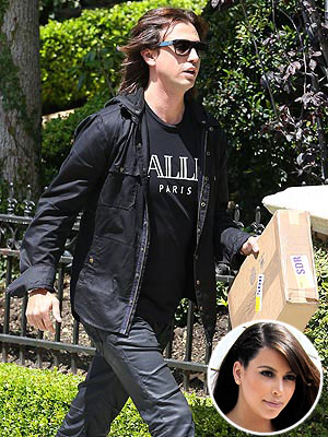 Kim Kardashian Baby Girl Born; BFF Jonathan Cheban Talks to People.com