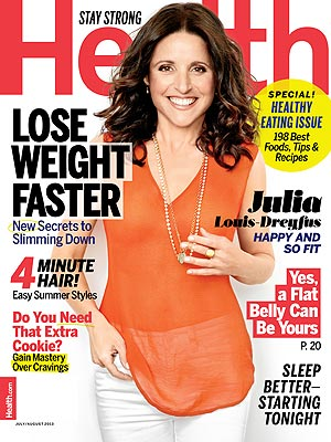 Julia Louis-Dreyfus Reveals Her Secret to Body Confidence