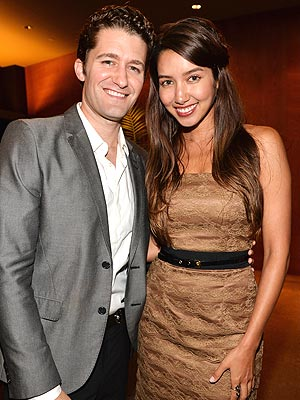 Matthew Morrison Proposes to Renee Puente