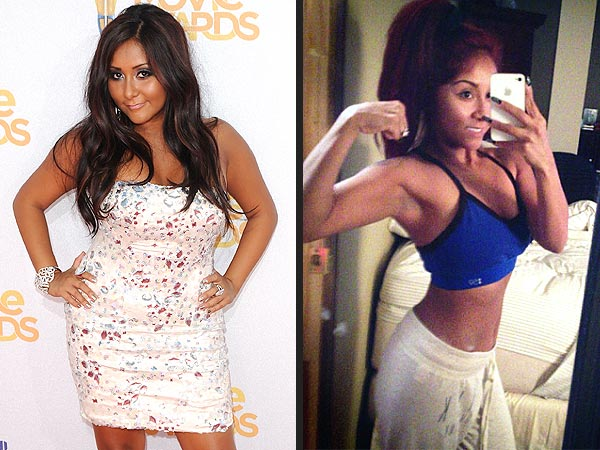Nicole 'Snooki' Polizzi Flaunts Toned Biceps & Workout Routine