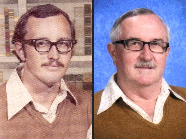 Texas Teacher Wears Same Yearbook Photo Outfit for 40 Years