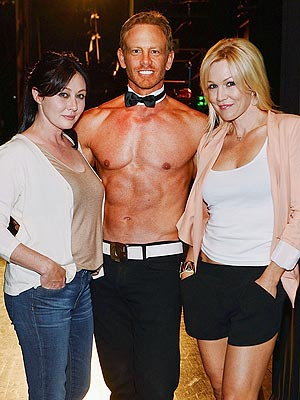 Ian Ziering: I Lured Shannen Doherty & Jennie Garth to Chippendales Stage