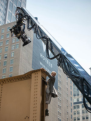 Shailene Woodley Stunt Photos from Divergent