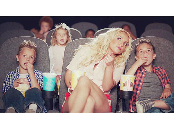 Britney Spears: 'Ooh La La' Video Debuts with Her Sons, Sean and Jayden
