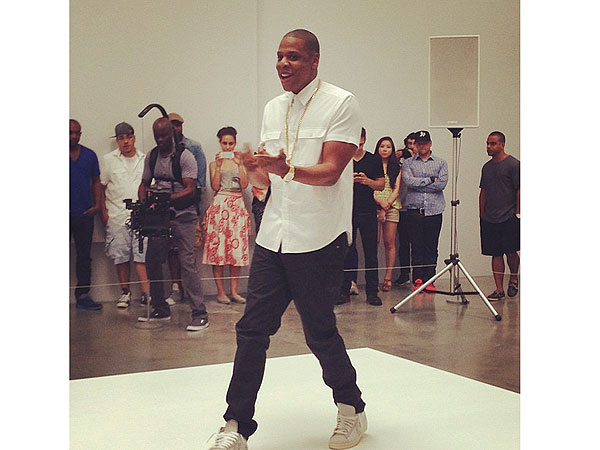Jay-Z Attempts to Perform Song for Six Hours Straight at New York City Art Gallery