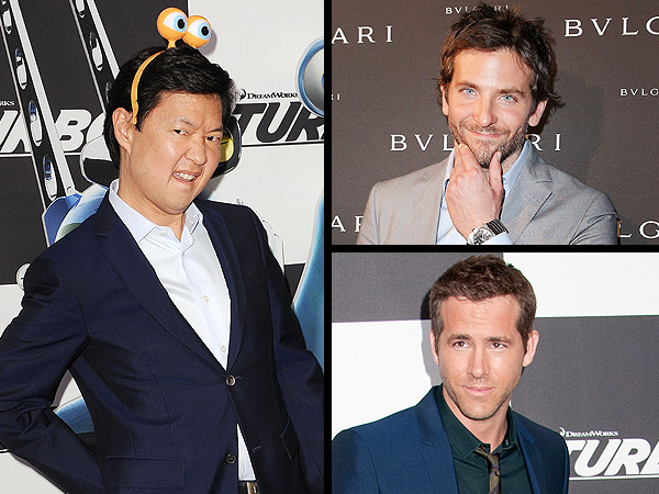 Bradley Cooper vs. Ryan Reynolds: Ken Jeong Compares His Sexiest Costars