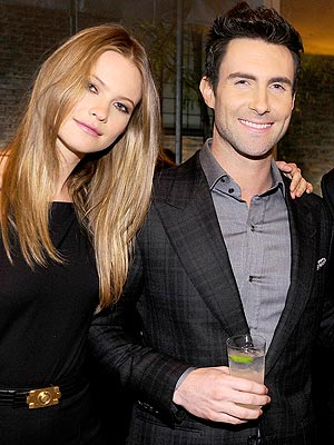 Adam Levine Fiancee Behati Prinsloo on His Sexiest Man Honor: She Laughed!