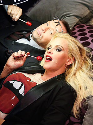 Jenny McCarthy Goes Underwear Shopping for Beau Donnie Wahlberg