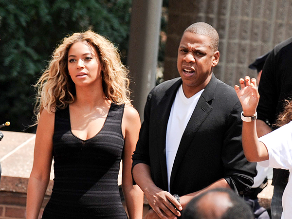 Beyoncé and Jay-Z Attend Rally for Trayvon Martin