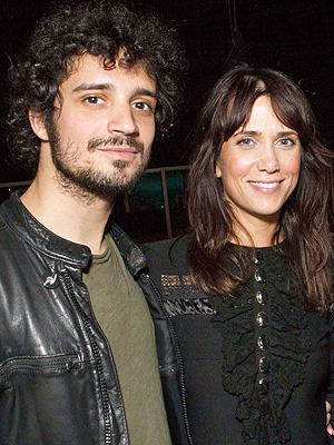 Kristen Wiig and Fabrizio Moretti Split