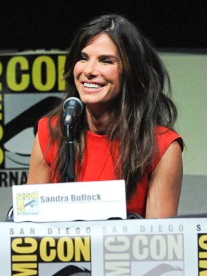 Sandra Bullock Makes Her Comic-Con Debut