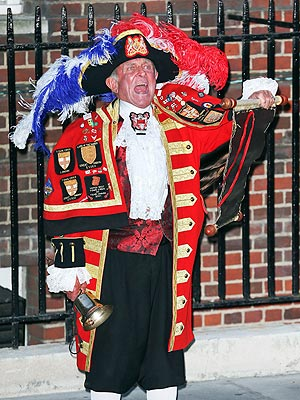 Royal Baby Birth: British Town Crier a Fake!