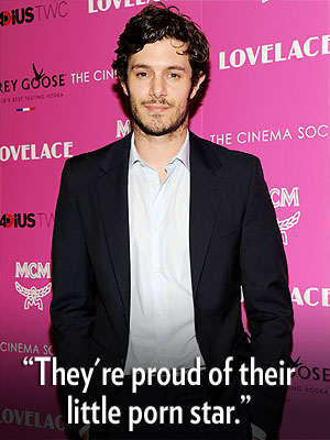 Adam Brody's Parents Are 'Pumped' He's Playing a Porn Star in Lovelace