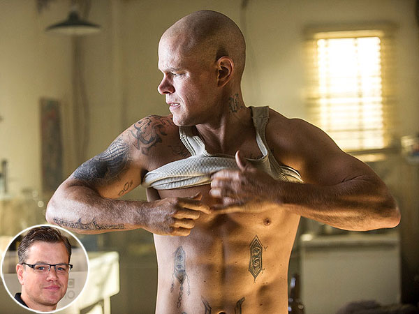 Matt Damon on Getting Buff for Elysium