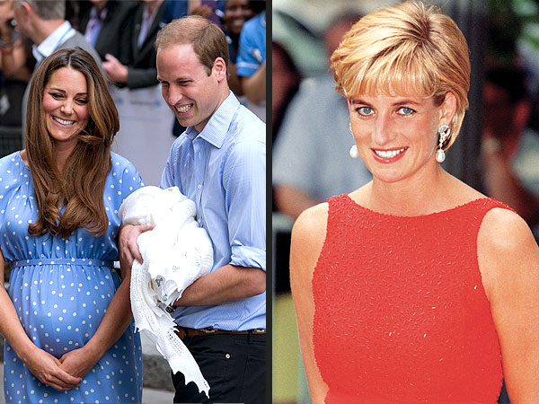 Prince George's Life Will Be a 'Carbon Copy' of How Diana Raised William & Harry