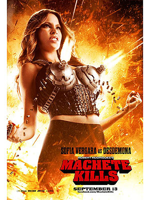 Sofia Vergara's Breasts Are a Lethal Weapon in Machete Kills