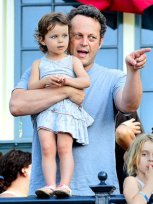 Vince Vaughn & Daughter Spend the Day at Disneyland