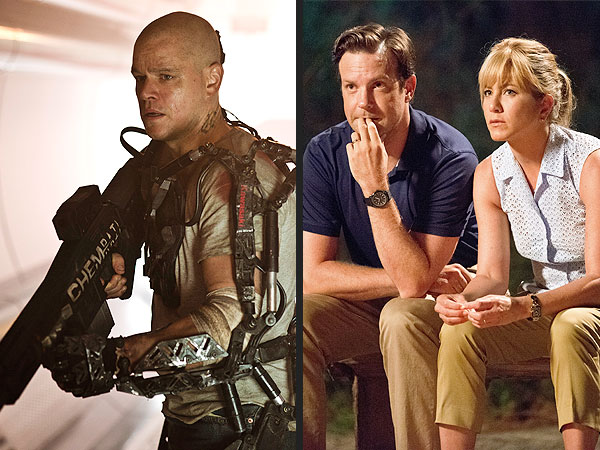 Elysium Is Far Out, but We're the Millers Is a Trip to Skip