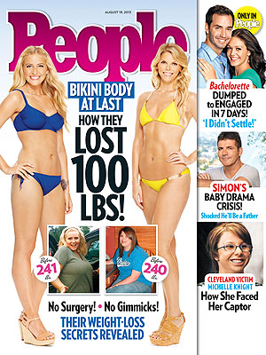 Weight-Loss Success Stories: Women Each Lost 100 lbs., Look Great in Bikinis