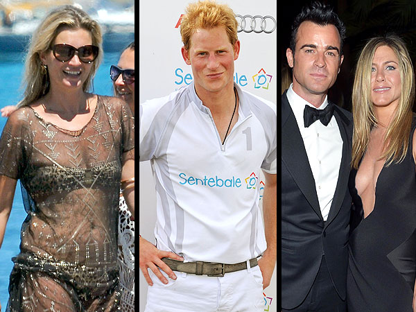 Jennifer Aniston Justin Theroux Party, Kate Moss Spain, Kevin Federline Weds