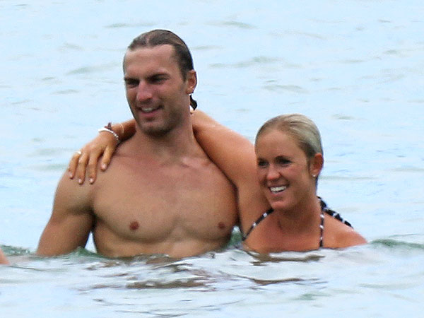 Bethany Hamilton and Her New Husband Hit the Beach