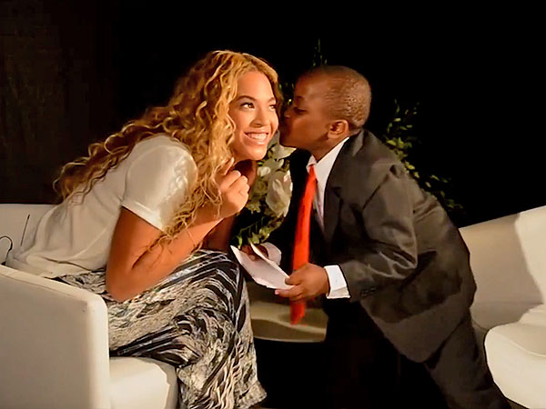 Beyonce Celebrates World Humanitarian Day with Kid President of the U.S.