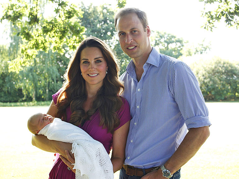 Prince George's Christening Date Set