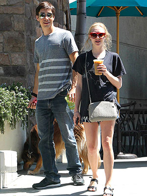 Amanda Seyfried and Justin Long's Day Out in L.A.