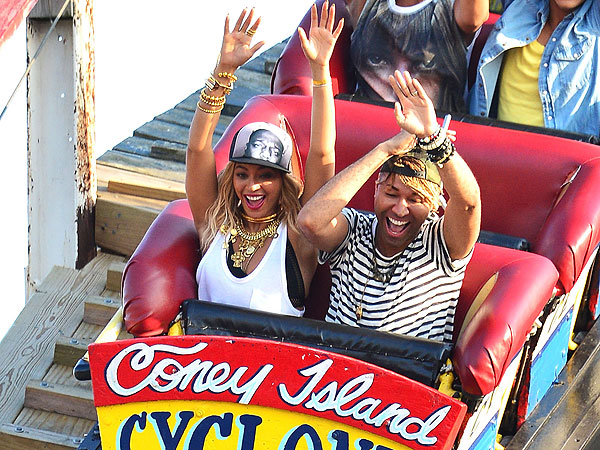 Beyoncé Rides the Cyclone at Coney Island for New Music Video
