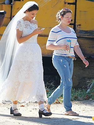 Katie Holmes Dons a Wedding Dress ... For a Role