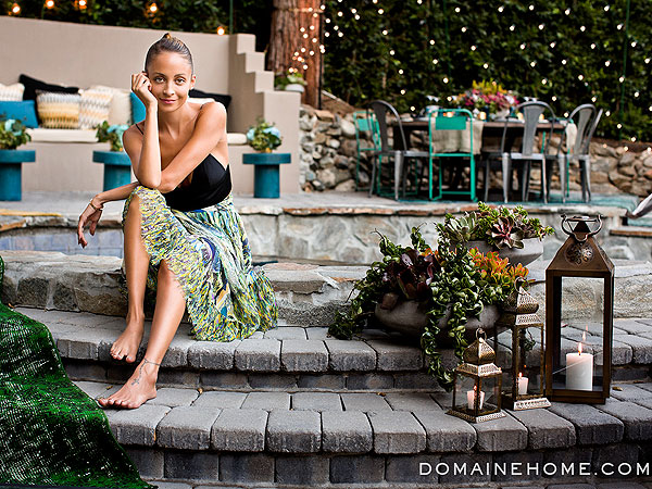 Nicole Richie Makes Over Her Backyard